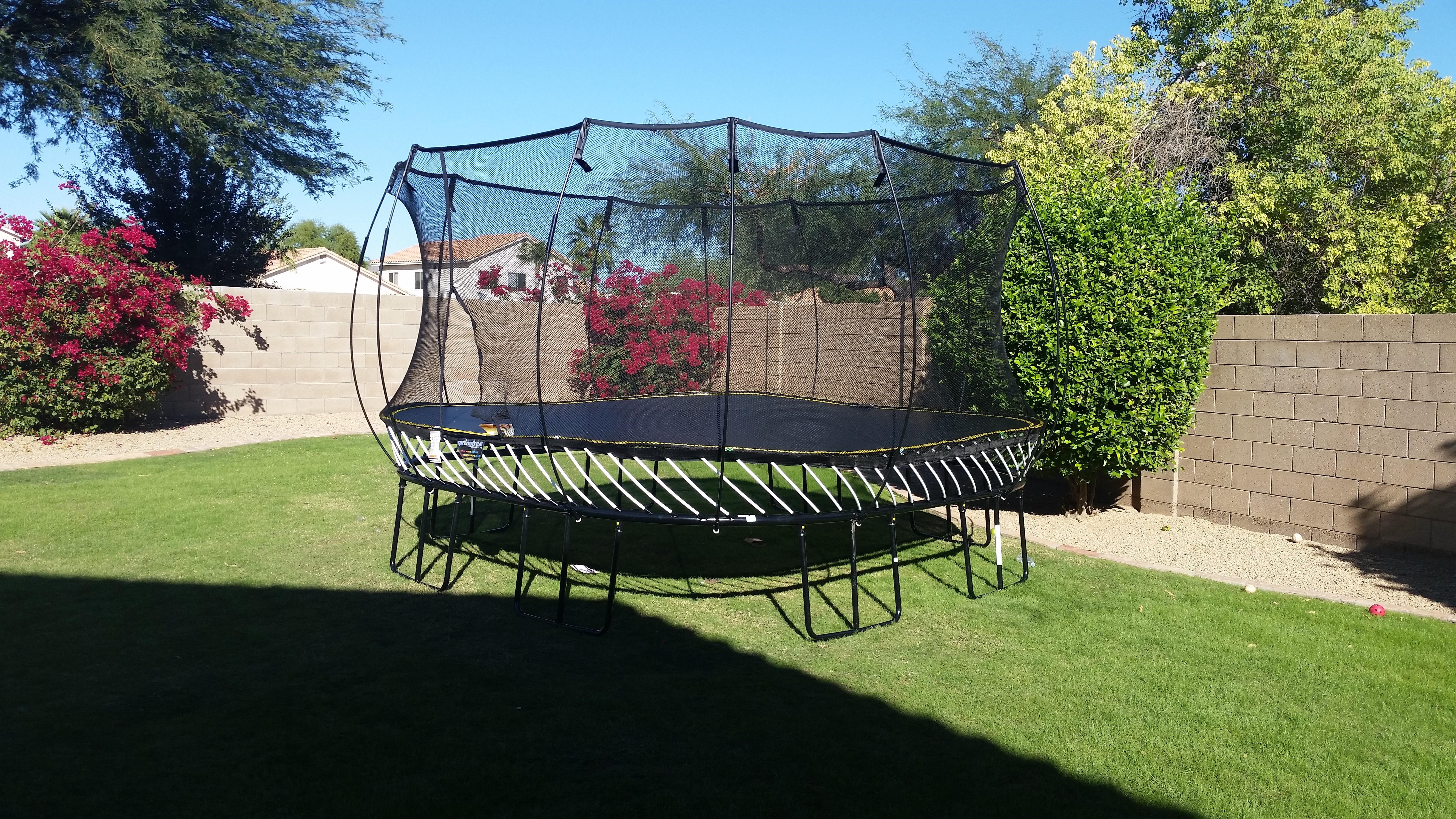 trampolines arizona backyard company
